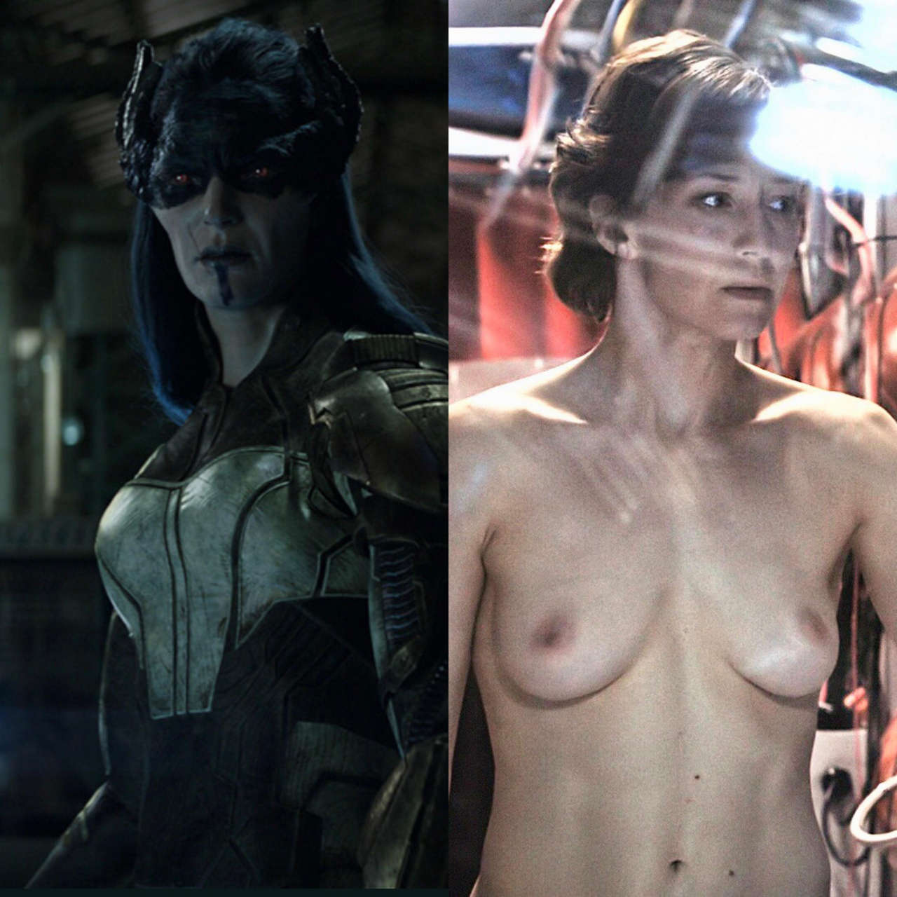 Proxima Midnight Carrie Coon On Off NSFW