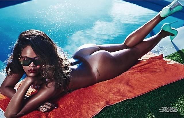 Rihanna Courtesy R Celebs NSFW