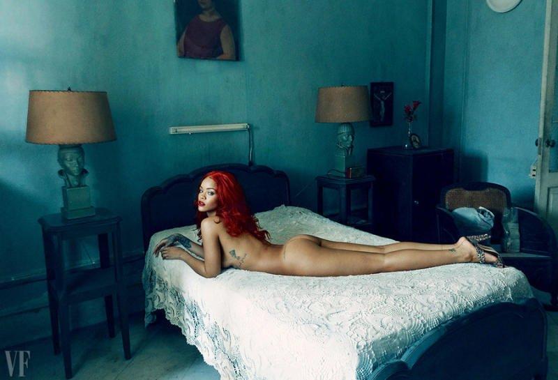 Rihanna For A New Vanity Fair Shoot NSFW