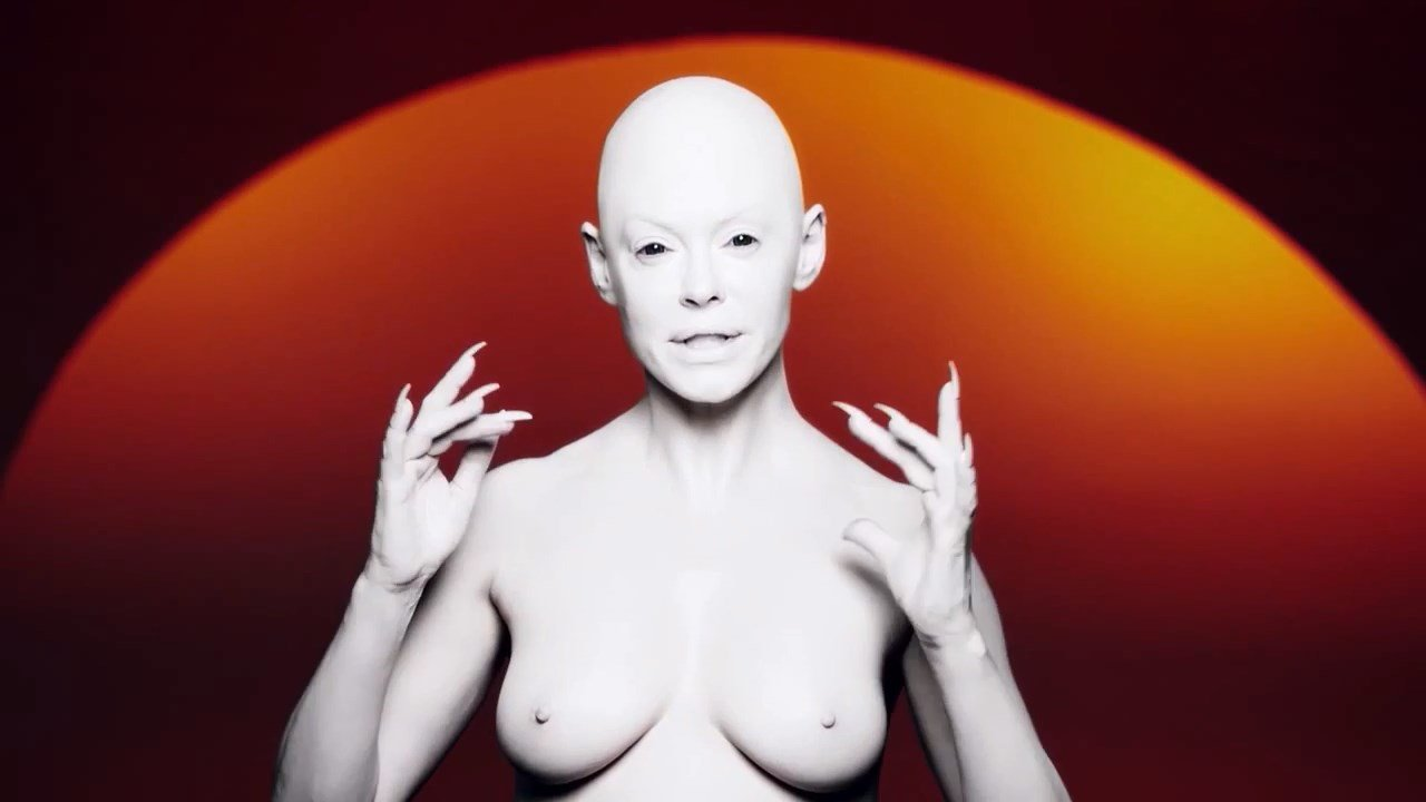 Rose Mcgowan From Music Video Rm486 NSFW