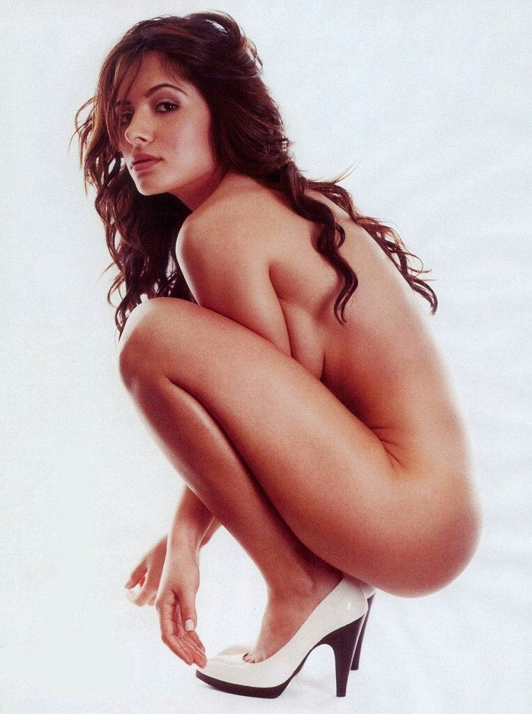 Sarah Shahi In Just Her Heels NSFW
