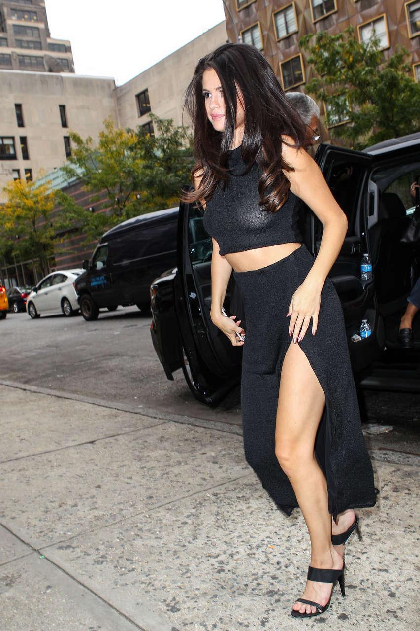 Selena Gomez Braless Nyc NSFW