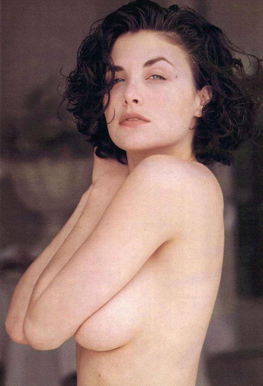 Sherilynn Fenn In Playboy 1990 Mic NSFW