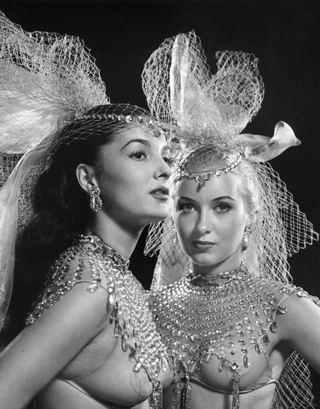 Showgirls At The Winter Garden Theatre C 1950 1 NSF