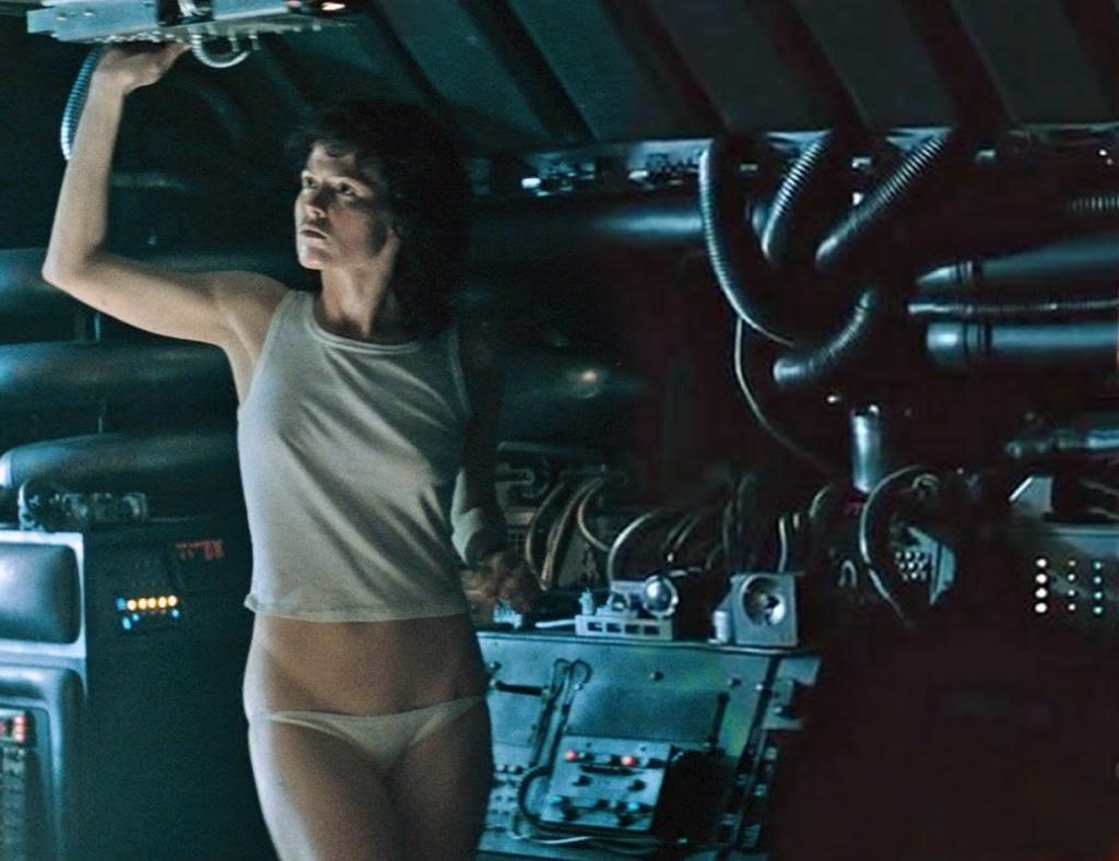 Sigourney Weaver Alien NSFW