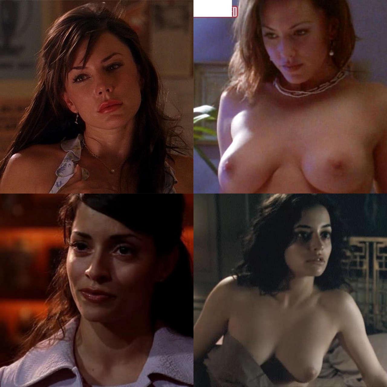 Smallville Pt 3 Lexs Wives Vaugier Andamp Allen NSF
