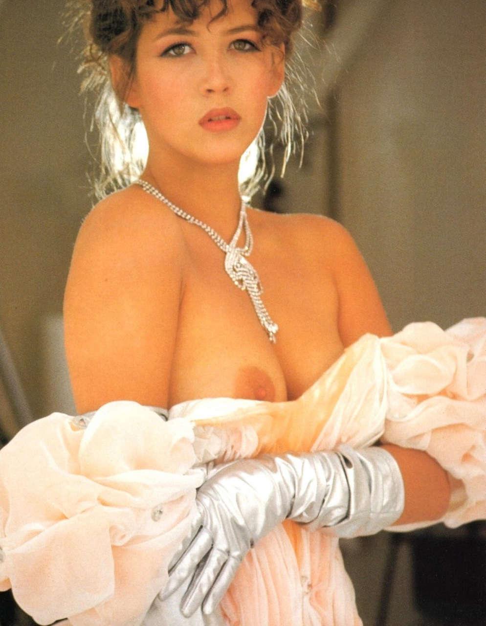 Sophie Marceau Lui Magazine April 1990 NSFW
