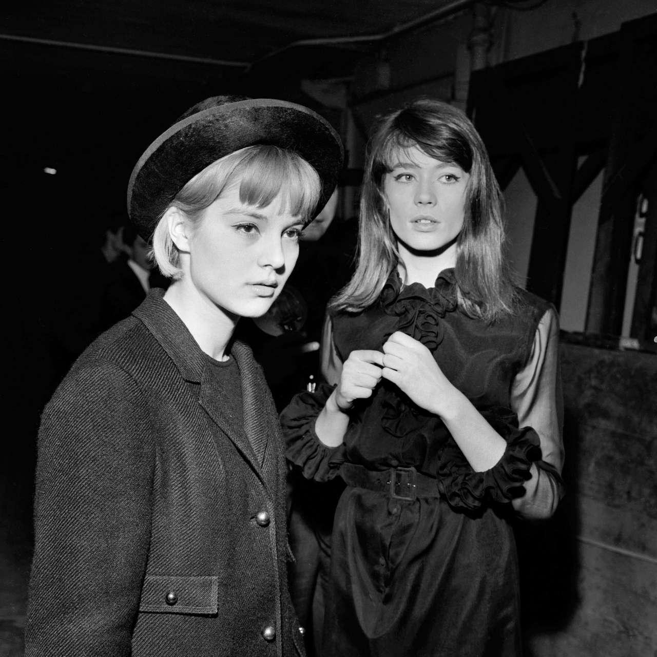 Sylvie Vartan And Francoise Hardy NSF