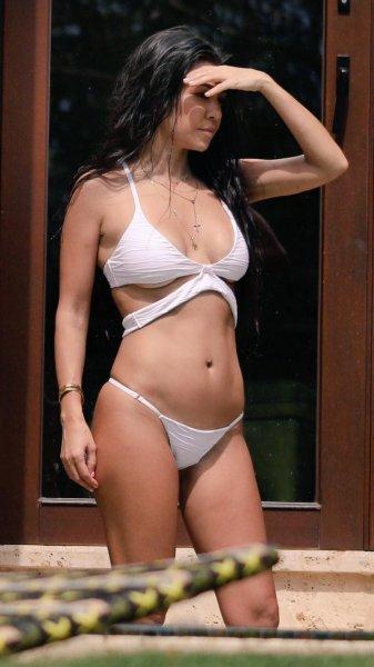 The Ass On Kourtney Kardashian