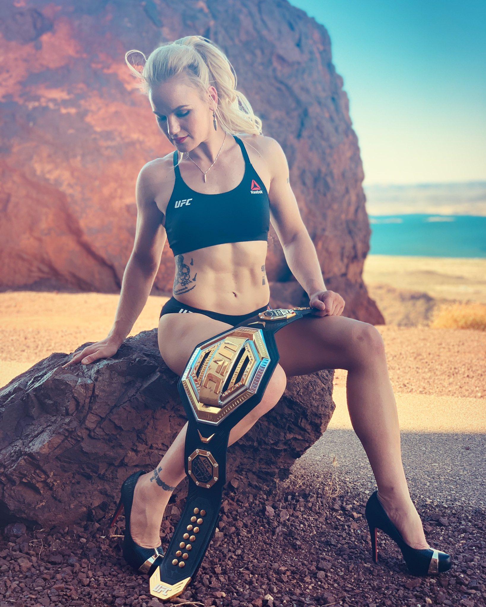 Ufc Champion Valentina Shevchenk