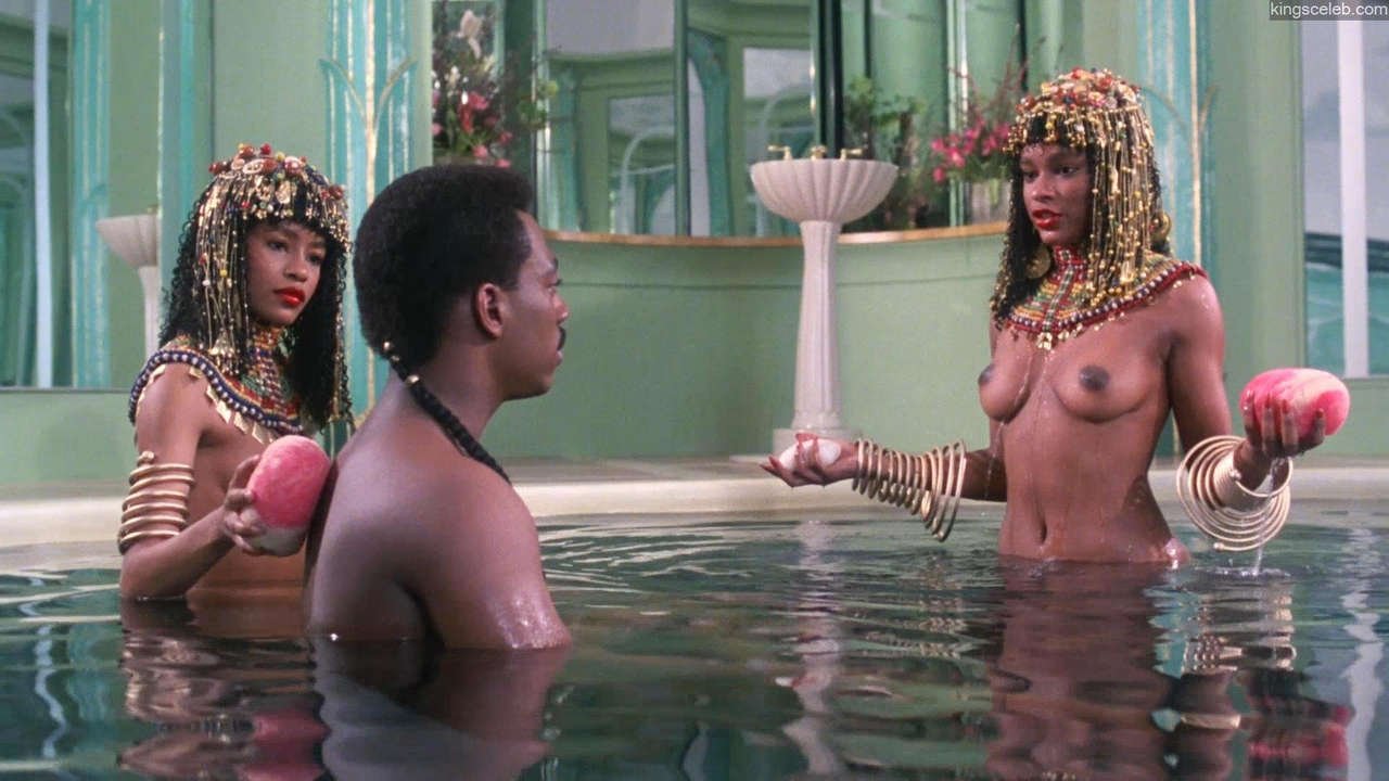 Victoria Dillard Janelle From Spin City In Coming To America 1988 NSFW